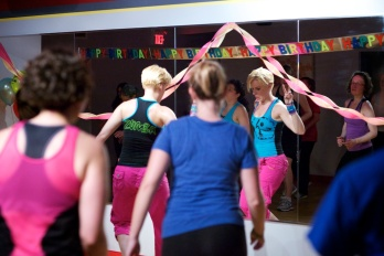 Tammy's 35th birthday at Snap Fitness