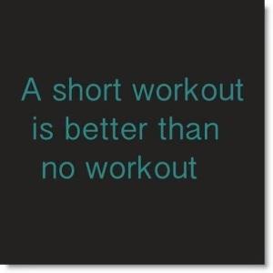 shortworkout